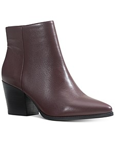 Eryn Leather Booties, Created for Macy's