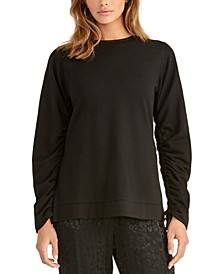 Ruched Sweatshirt