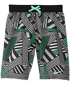 Big Boys Printed Volley Shorts Swim Trunks
