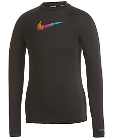 Nike Big Girls Long-Sleeve Dri-FIT Hydrogaurd