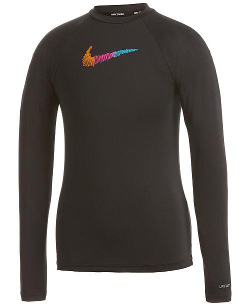 Nike Big Girls Long-Sleeve Dri-FIT Hydrogaurd
