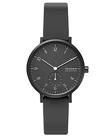 Women's Aaren Kulor Black Silicone Strap Watch 36mm