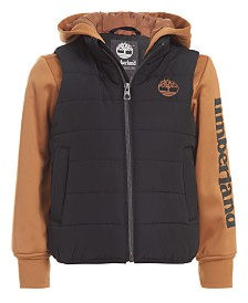 Timberland Big Boys Ravine Hybrid Jacket