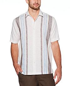 Cubavera Men's Big & Tall Yarn-Dyed Stripe Linen Shirt
