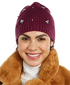 INC Gemstone Beanie, Created for Macy's