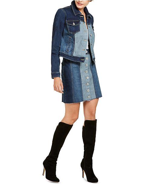 INC International Concepts I.N.C. Denim Jacket & Skirt, Created for Macy's