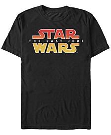 Men's The Last Jedi Gradient Logo Short Sleeve T-Shirt