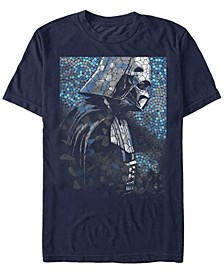 Men's Classic Darth Vader Tiles Short Sleeve T-Shirt