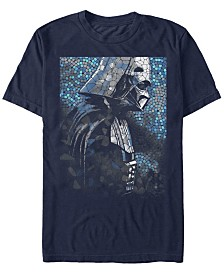 Star Wars Men's Classic Darth Vader Tiles Short Sleeve T-Shirt