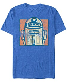 Star Wars Men's Classic Character Collage Short Sleeve T-Shirt