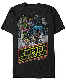 Star Wars Men's Classic Empire Strikes Back Short Sleeve T-Shirt