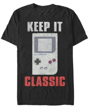 Nintendo Men's Game Boy Keep It Classic Short Sleeve T-Shirt