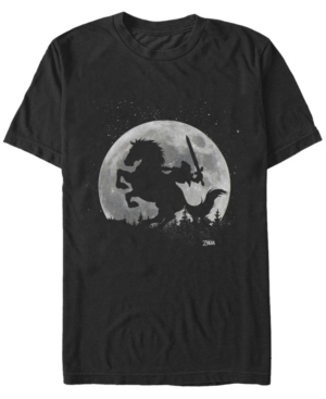 Nintendo Men's Legend of Zelda Night Rider Short Sleeve T-Shirt