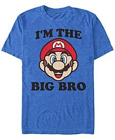 Men's Super Mario Big Bro Short Sleeve T-Shirt