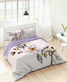 Kaliedo Orchids Duvet Set, Full/Queen