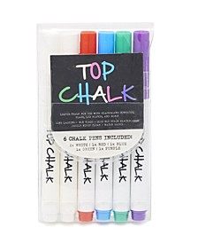 Top Chalk Markers - Pack of 6