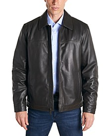 Men's Classic Leather Jacket