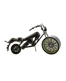 Harley Style Table Clock
