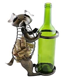 Dog Bottle and Cork Holder
