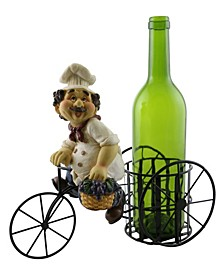 Chef with Grapes Wine Bottle Holder