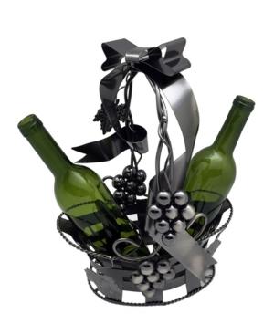 Wine Bodies Basket Holding 2 Bottles Wine Holder