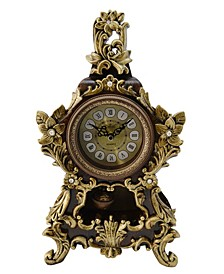Flower Style Table Clock