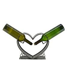 Big Heart Wine Bottle Holder
