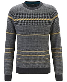 BOSS Men's Arkamoro Regular-Fit Sweater