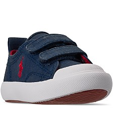 Polo Ralph Lauren Toddler Boys Kingsley EZ Stay-Put Closure Casual Sneakers from Finish Line
