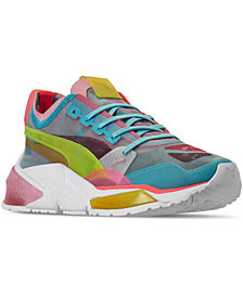 Puma Women's LQDCELL Optic Sheer Casual Athletic Sneakers from Finish Line