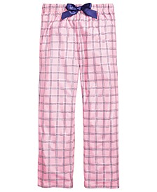 Little & Big Girls Plaid Pajama Pants