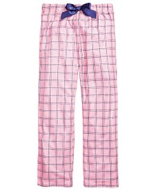 Max & Olivia Little & Big Girls Plaid Pajama Pants