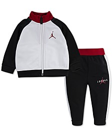 Baby Boys 2-Pc. Jumpman Jacket & Jogger Pants Set
