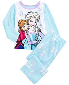 Toddler Girls 2-Pc. Frozen Fleece Pajamas Set