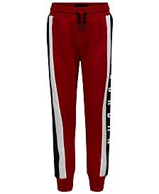 Jordan Little Boys Colorblocked Mesh-Trim Jogger Pants