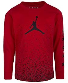 Jordan Toddler Boys Jumpman Speckle-Print Cotton T-Shirt