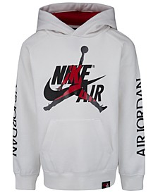 Little Boys Nike Air-Print Hoodie
