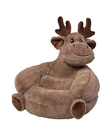 Plush Moose Character Chair
