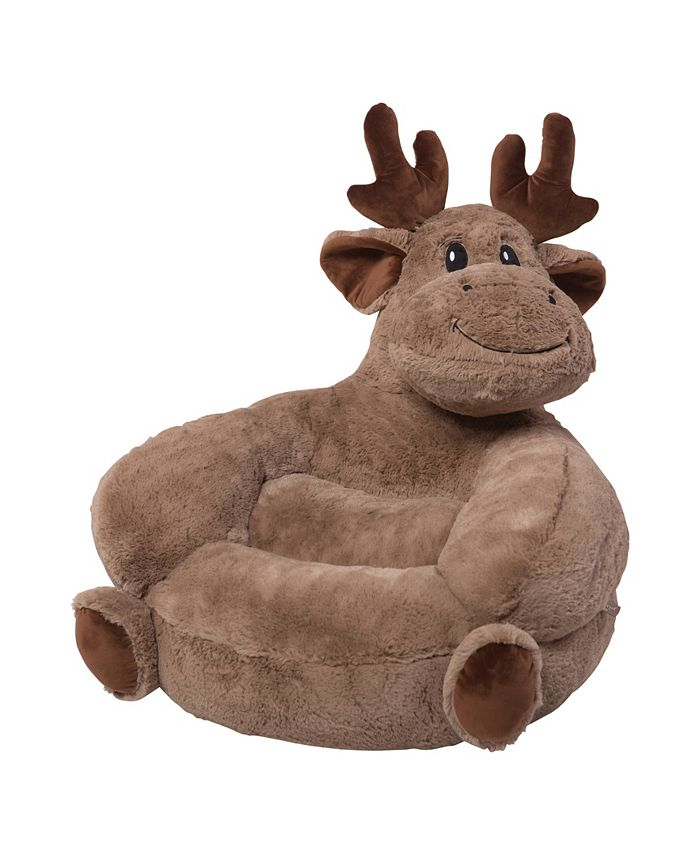 Trend Lab - Children's Plush Moose Character Chair