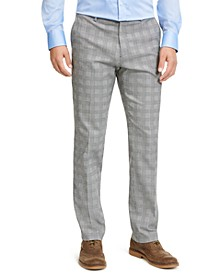 Plaid TH Flex Stretch Modern-Fit Dress Pants