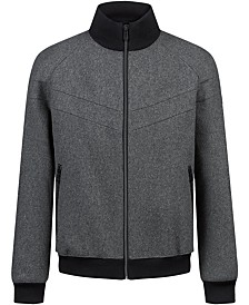 HUGO Men's Bastian Full-Zip Jacket