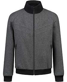 HUGO Men's Bastian Full-Zip Jacket