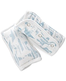 Baby Boys 2-Pack Retro Printed Strap Covers