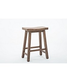 "Sonoma Collection 24"" Saddle Stool"