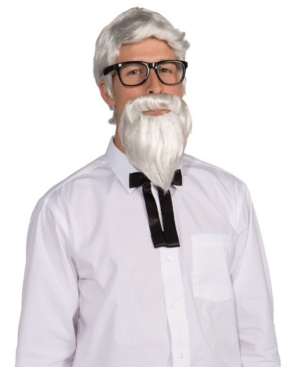 Adult Colonel Wig and Beard