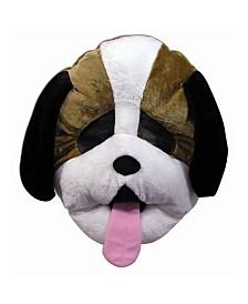 BuySeasons Adult Dog Mascot Mask