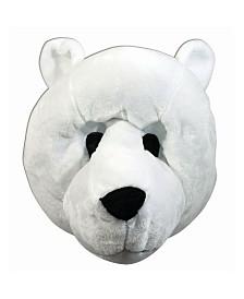 BuySeasons Adult Polar Bear Mascot Mask