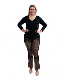 Women's Cute Furry Leggings