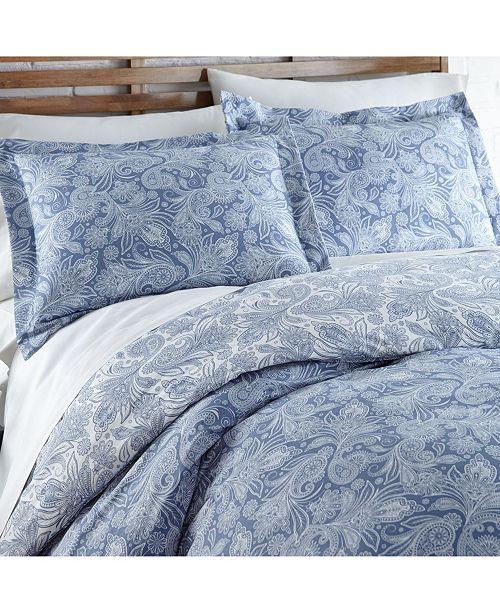 Southshore Fine Linens Perfect Paisley Boho Duvet Cover and Sham Set