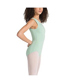 Big Girls High Neck Tank Leotard
